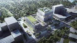 EID Architecture revela imagens do Lingang ZKJI Center em Xangai na China
