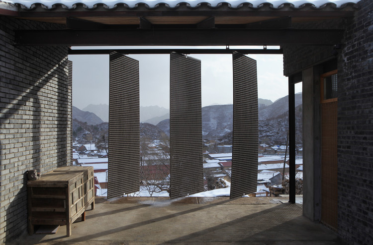 A House Near the Great Wall / Jin Lei, Adjustable grating. Image © Bohong Zhai