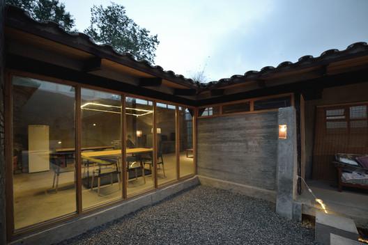 Corner of the building. Image © Lei Jin