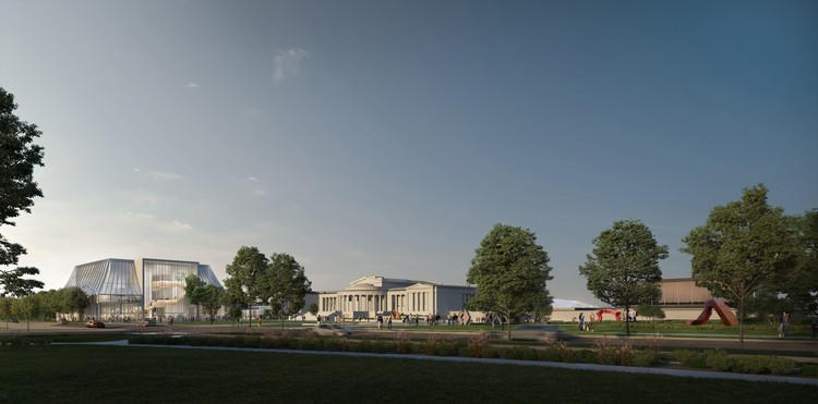 OMA Releases Images of Albright-Knox Art Gallery Expansion in New York, Courtesy of OMA