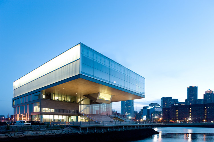Institute of Contemporary Art / Diller Scofidio + Renfro, © Iwan Baan