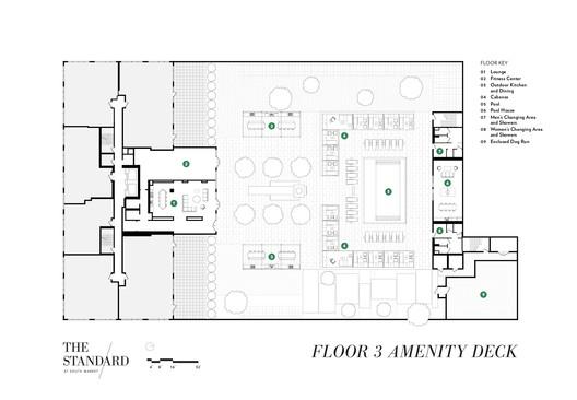 3rd floor Amenity Deck