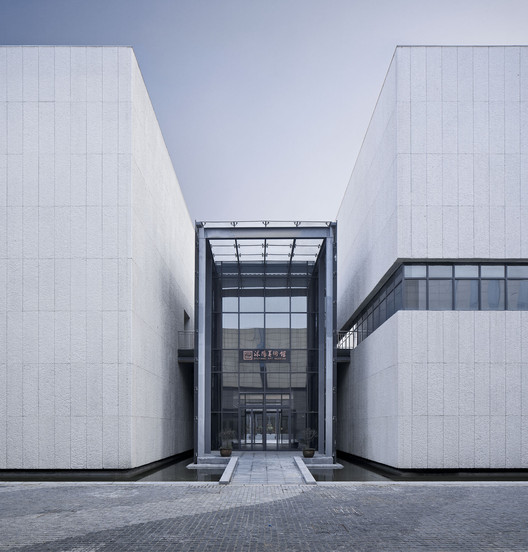 Secondary Entrance. Image © Qiang Zhao