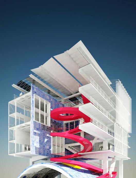 Barranquilla inicia construcción de 'La Fábrica de Cultura', La Fábrica de Cultura. Image Cortesía de Alcaldía de Barranquilla
