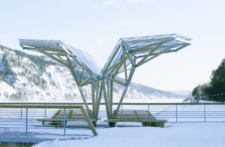 "Viewing Platform with Canopy and Amphitheater / OOO ""ADM"", © Alexey Myakota"