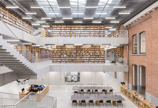 Utopia, a Library and Academy for Performing Arts / KAAN Architecten