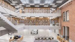 Utopia, Biblioteca e Academia de Artes Cênicas / KAAN Architecten