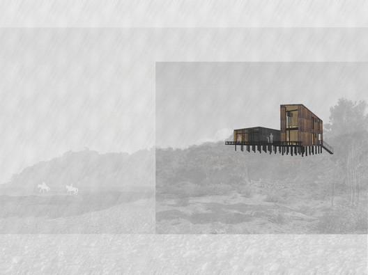 Imagén objetivo. Image Cortesía de Ortuzar Gebauer Arquitectos