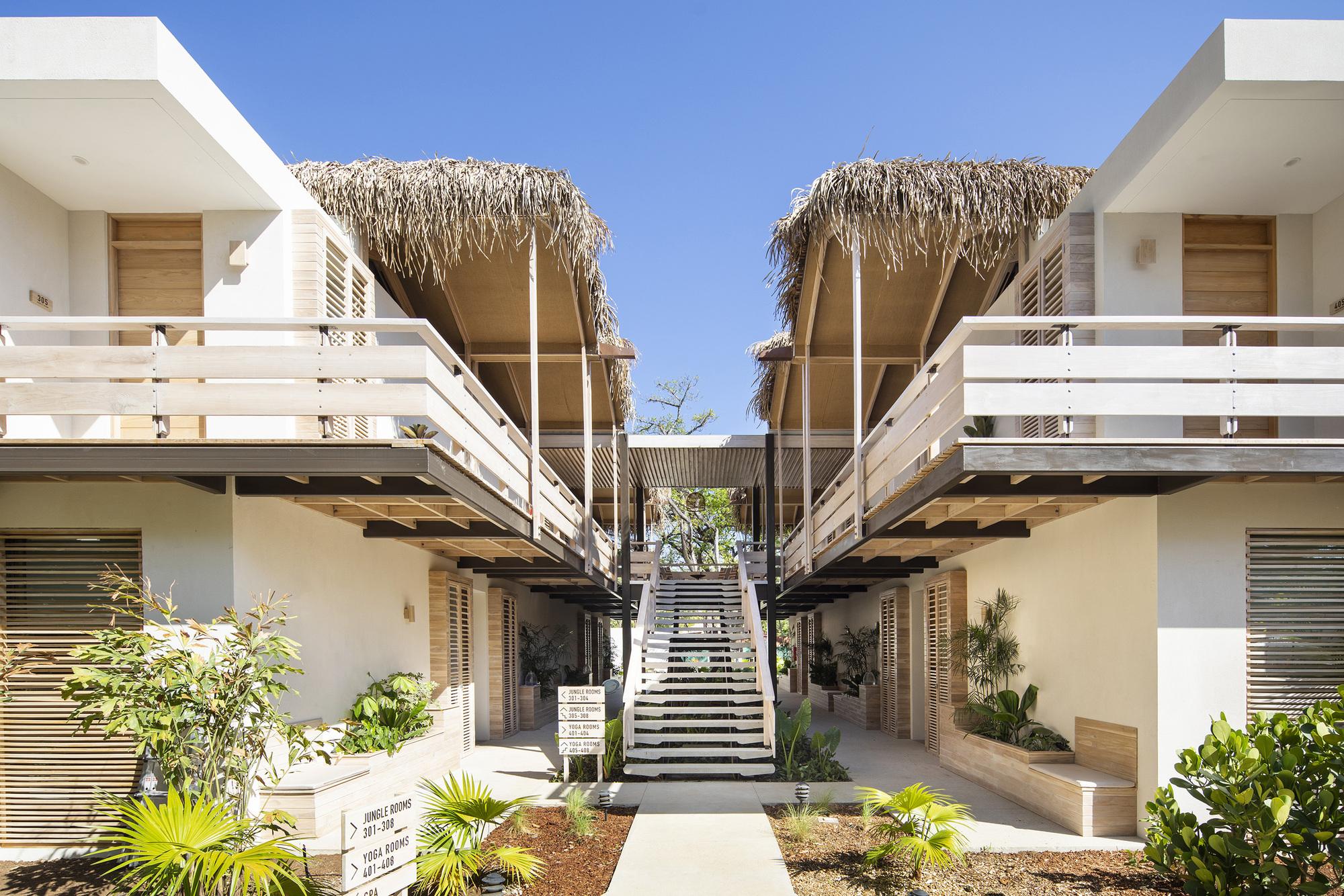 The Gilded Iguana Hotel / Studio Saxe