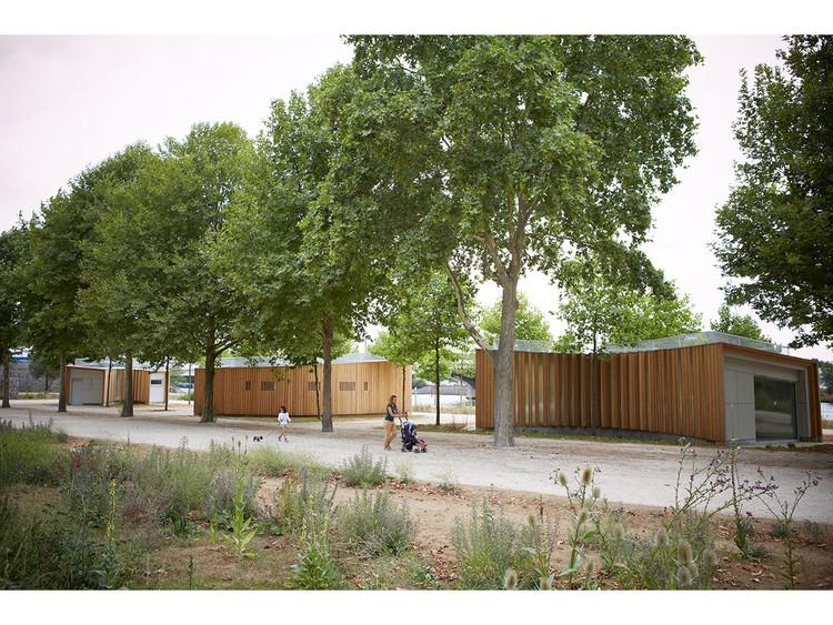 h2o architectes Reveals Designs of Three Pavilions Along Seine River, © Julien Attard