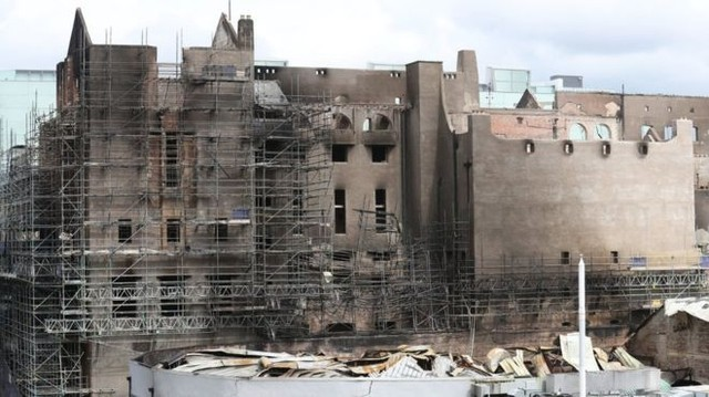 Glasgow School Of Art Building To Be Dismantled Following Fire