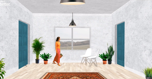 Screen capture, Post-Digital Interior Design Drawing. Image via Show It Better