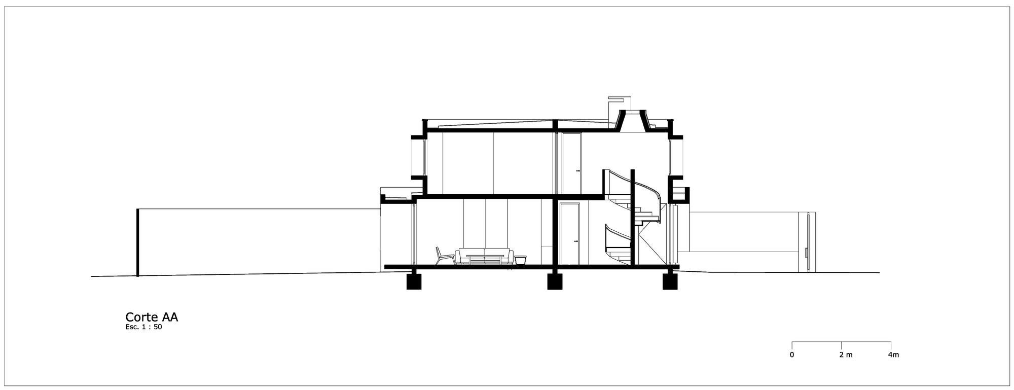 Gallery of malaga house prietoschaffer arquitectos 14 - Arquitectos interioristas malaga ...