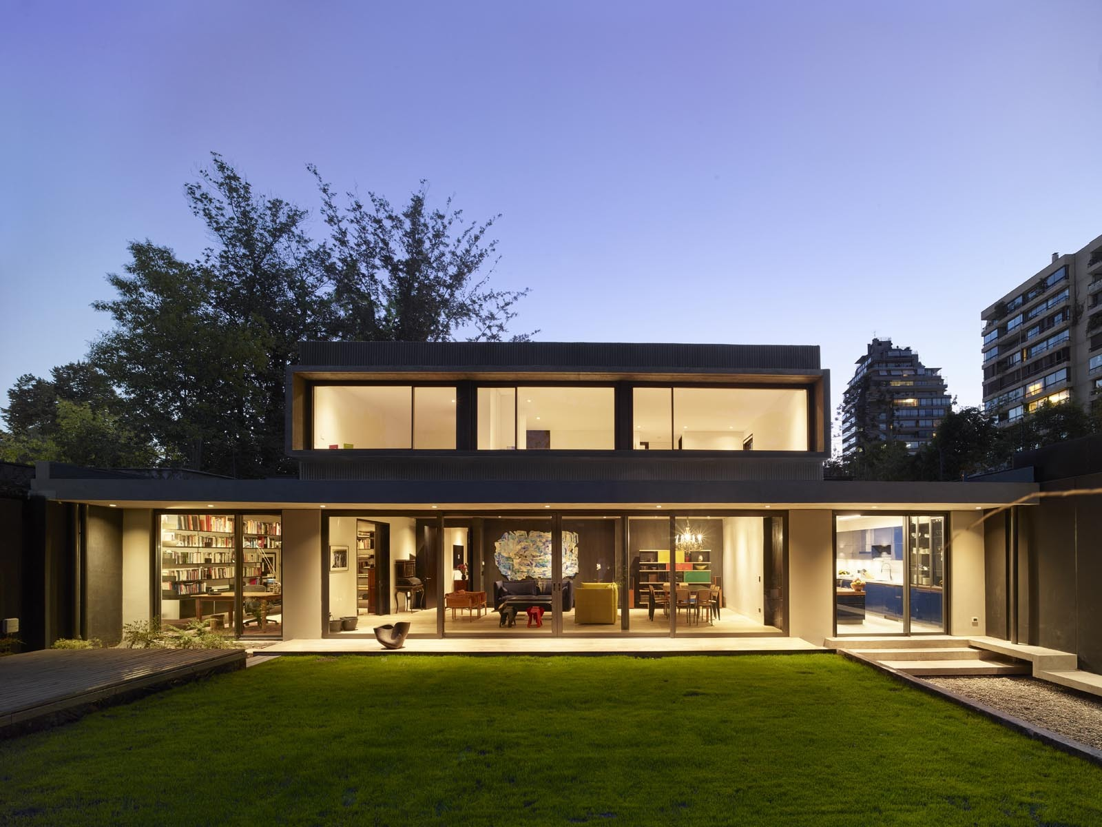 Galer a de casa m laga prietoschaffer arquitectos 9 - Arquitectos interioristas malaga ...