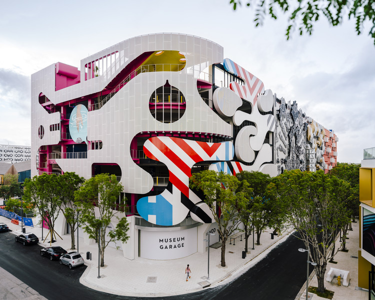 Museum Garage de Miami / WORKac + Nicolas Buffe + Clavel Arquitectos + K/R and J MAYER H, © Imagen Subliminal