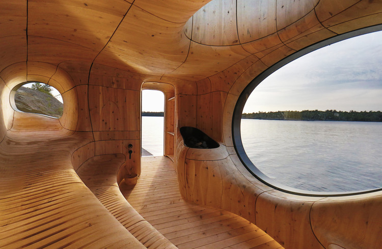 Contemporary Canadian Wooden Architecture in Photos and Drawings, © Jonathan Friedman