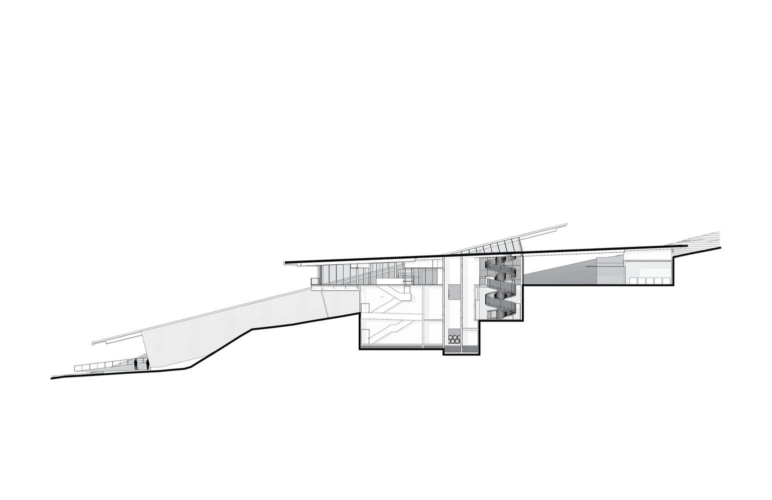Gallery Of Martins Lane Winery Olson Kundig 57 Beam Bridge Diagram Winerysection 02