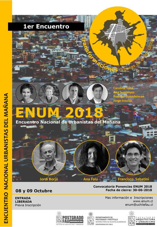 ENUM: 1° Encuentro Nacional de Urbanistas del Mañana