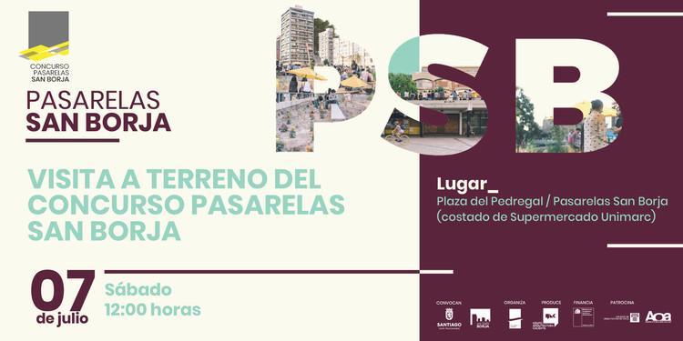 Visita a terreno del Concurso Pasarelas San Borja, Concurso Pasarelas San Borja