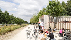 3 Pavilions Along the Seine River / h2o architectes