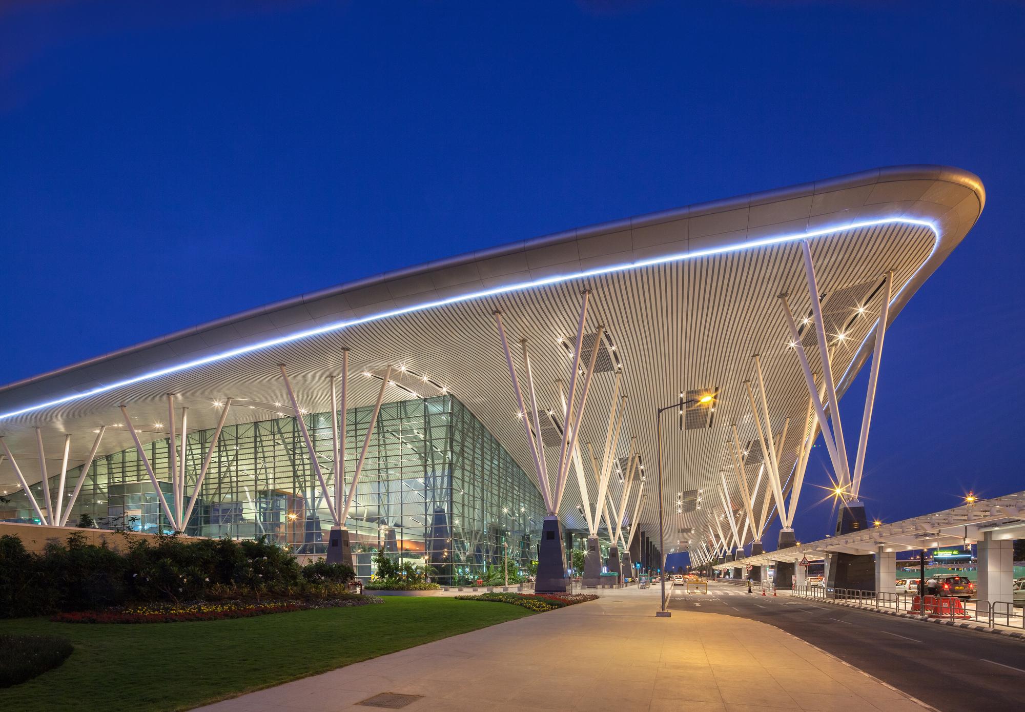 Kempegowda International Airport Hok Archdaily