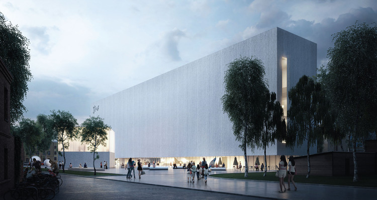 "IMPLMNT Highlights ""Connection and Transformation"" in Award-Winning Proposal for New Lithuanian Cultural Center , Courtesy of IMPLMNT"