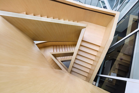 Wooden Stair. Image © Lian He