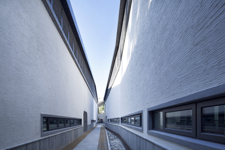 Museo Jixi / Atelier Li Xinggang, Calle interior y Shuizhen. Imagen © Zhi Xia
