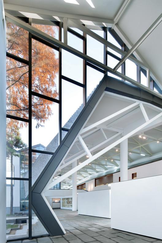 No.12 exhibition hall. Image © Zhi Xia