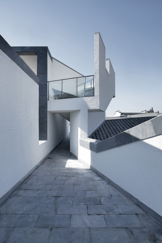 Roof observation deck. Image © Zhi Xia
