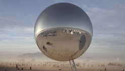 Bjarke Ingels and Jakob Lange Launch Fundraiser for Giant Reflective Orb at Burning Man 2018