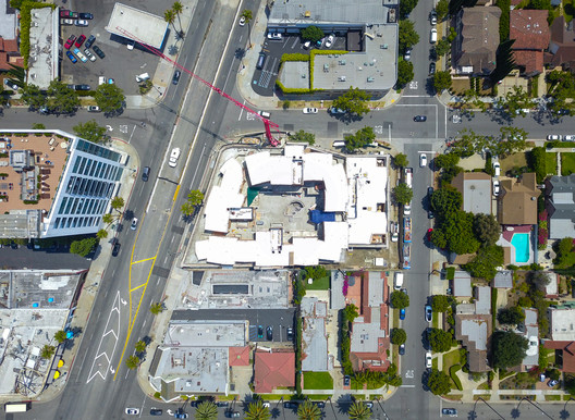 Top view. Image Courtesy of MAD Architects
