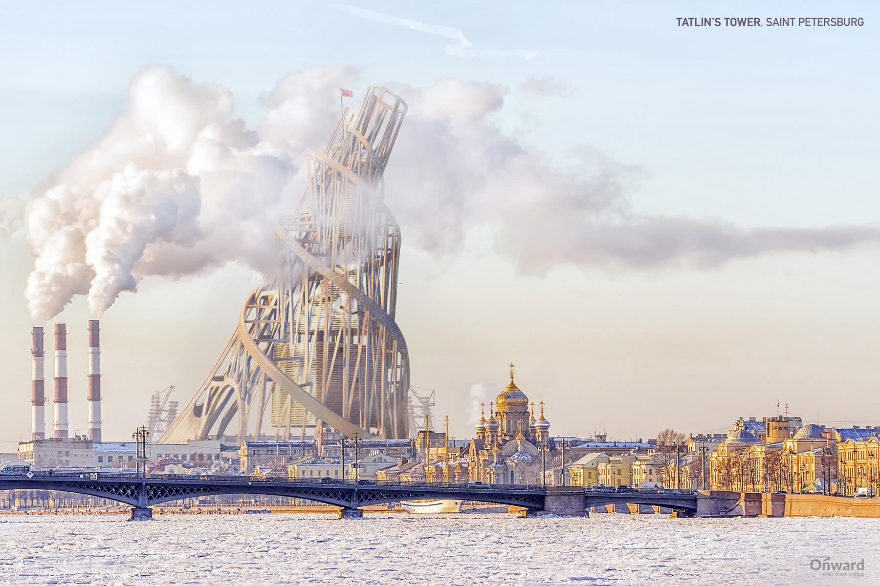 7 Notable Unbuilt Structures Brought to Life in New Renders