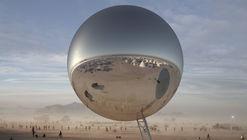 Bjarke Ingels y Jakob Lange lanzan crowdfunding para construir esta esfera en Burning Man 2018