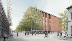 Eduardo Souto de Moura and META Unveil Proposed Exhibition Hall for Urban Renewal in Bruges