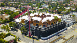 MAD's First US Project 'Gardenhouse' Tops Out in Beverly Hills