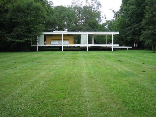 Casa Farnsworth / Mies van der Rohe. © Tim Brown Architecture