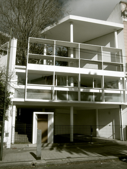 Casa Curutchet / Le Corbusier. © ARQ+HIS