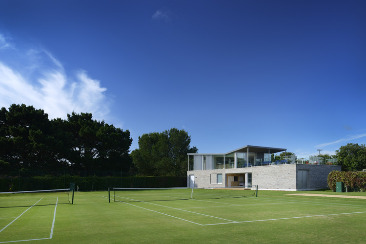 Canoe Lake Leisure Tennis Pavilion / PAD studio, © Nigel Rigden