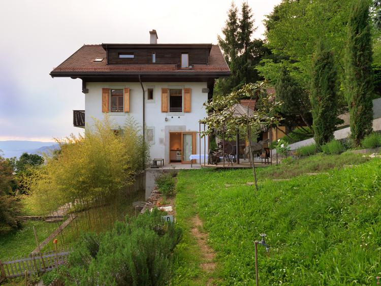 House ERG / Ralph Germann architectes, © Lionel Henriod