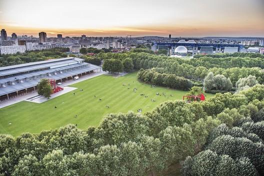 Parc de La Villette, main venue of the Fab City Summit (Paris, July 2018). Image via Fab City Summit