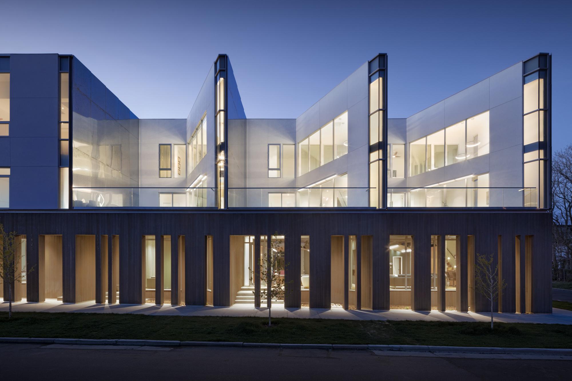 Jason Street Multifamily / Meridian 105 Architecture