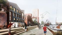 Henning Larsen Release Images of Revitalized Shipyard District in Gdansk, Poland