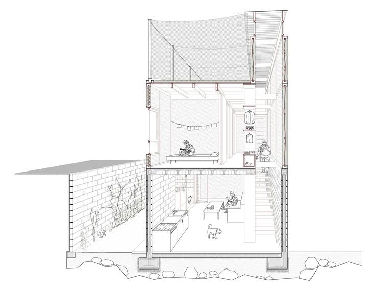Arquitectos españoles proponen revalorar métodos constructivos tradicionales para la vivienda social en Lima, Perú, Cortesía de MUTUO