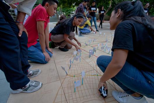 Salvad la ciudad, actividades de mapeo colectivo.. Image © Juan Tapias