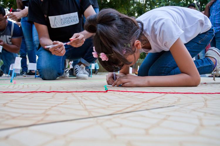 Salvad la Ciudad: mapeo colectivo para un diagnóstico urbano de Barranquilla, Salvad la ciudad, actividades de mapeo colectivo.. Image © Juan Tapias