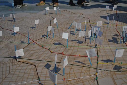 Salvad la ciudad, actividades de mapeo colectivo.. Image © Katerine Arrauth Ochoa