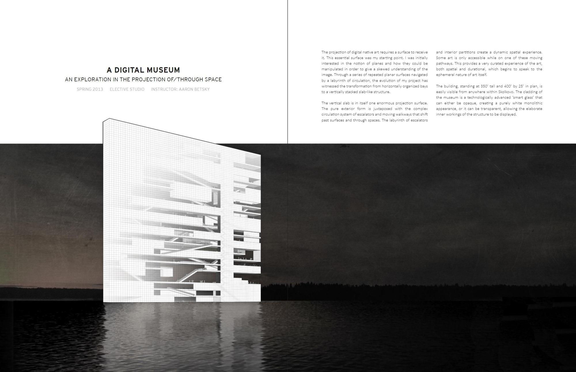 Gallery Of 74 Exceptional Architecture Portfolios 3