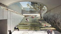 Arquitectura en Estudio + NOMENA Arquitectura, segundo lugar en el diseño de la alcaldía de Santa Fe en Colombia
