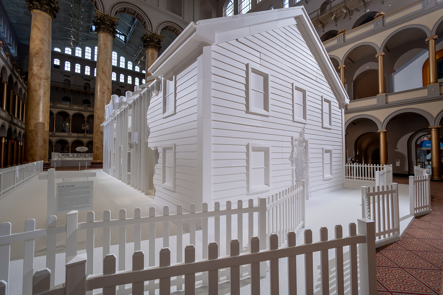 gallery of snarkitecture s fun house opens at the national
